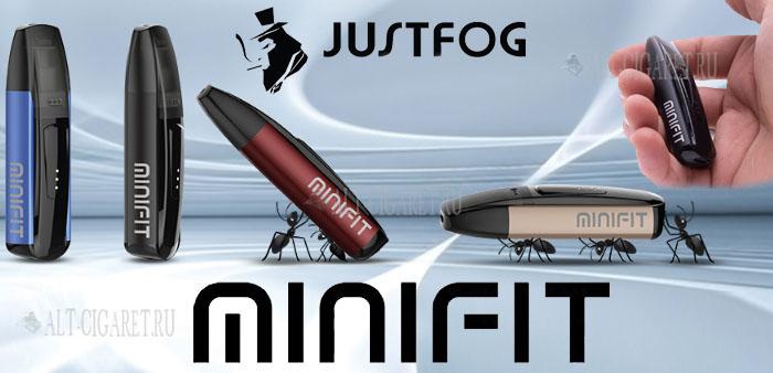 JUSTFOG MINIFIT 370 mAh Kit