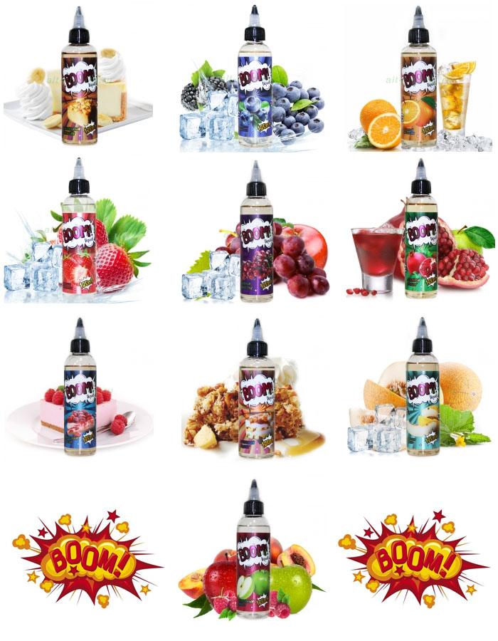 Жидкость для электронных сигарет - BOOM