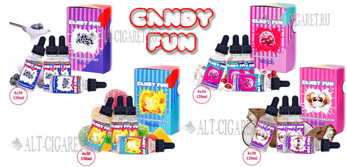 Жидкость Candy Fun 120 мл