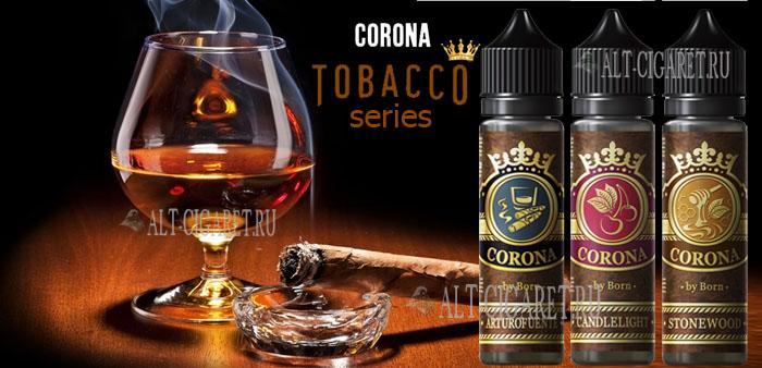 Жидкость для электронных сигарет Corona