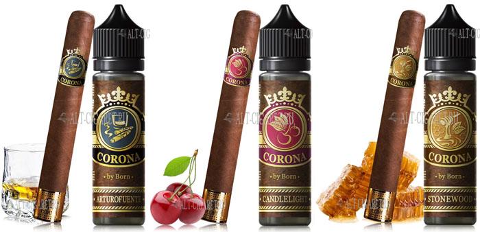 Табачная жидкость для электронных сигарет Corona