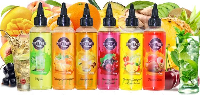 Линейка DUTY FREE fresh - 6 уникальных вкусов.