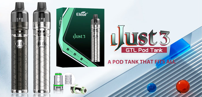 Eleaf iJust 3 with GTL Pod Tank 4.5ml Kit
