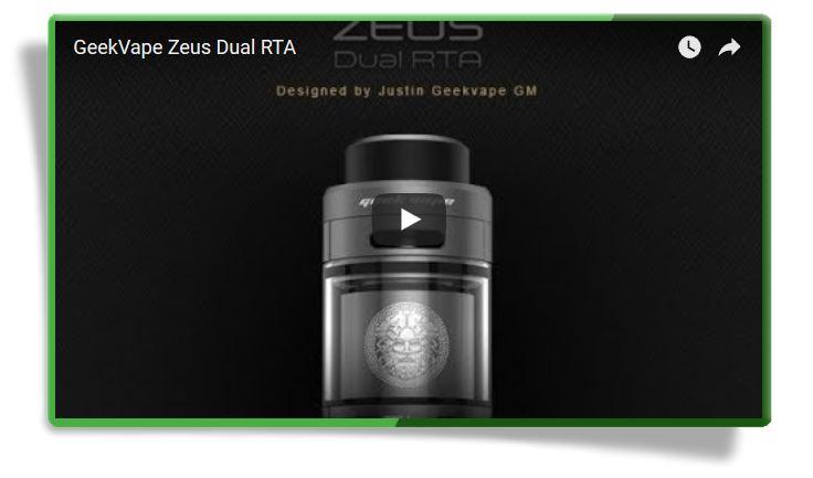GeekVape Zeus Dual RTA - обзор