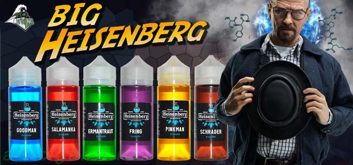 Жидкость для электронных сигарет BIG Heisenberg