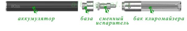 Электронная сигарета iSmoka iKiss