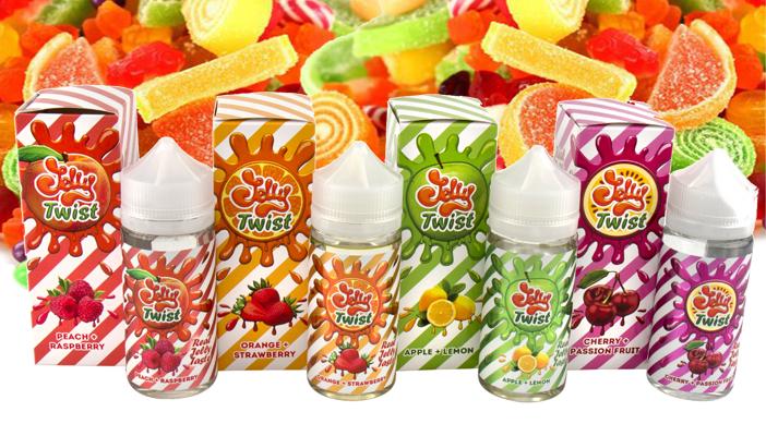 Jelly Twist - жидкости для электронных сигарет