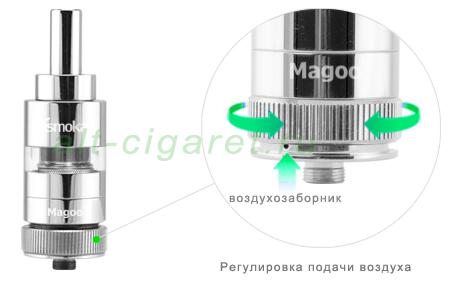 Обслуживаемый атомайзер iSmoka - Magoo-S