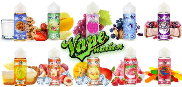VapeNation - жидкость для электронных
