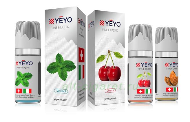 жидкость для электронных сигарет YEYO (USA)