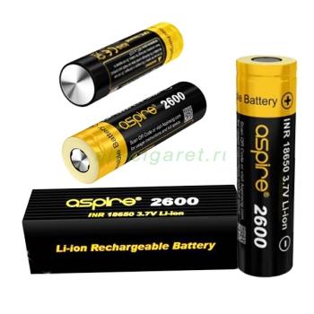 Аккумулятор INR18650 Li-ion, 40/20A 2600mAh