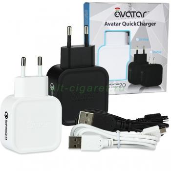 Универсальный сетевой адаптер Avatar QC2.0 Quick Charger