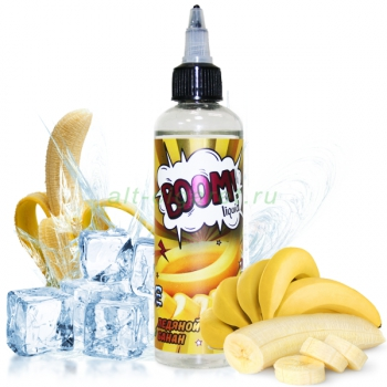 Boom Liquid Ледяной банан, 120 мл