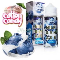 Жидкость Cotton Candy, MILKSHAKE - ЧЕРНИКА