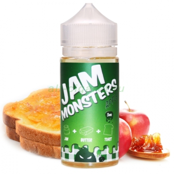JAM MONSTERS Apple, 120 мл
