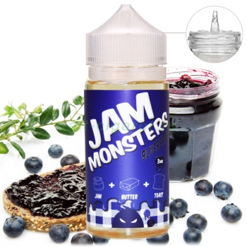 JAM MONSTERS Blueberry, 120 мл