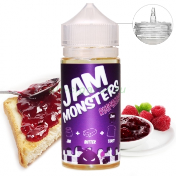 JAM MONSTERS Raspberry, 120 мл