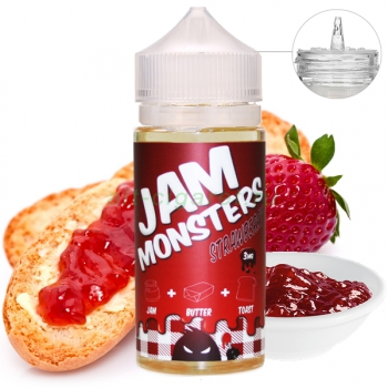 JAM MONSTER Strawberry, 120 мл