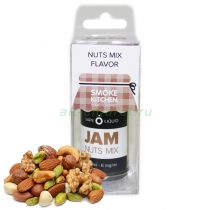 SmokeKitchen Jam, Nuts mix, 30 мл