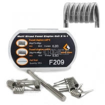 GeekVape Multi Strand Fused Clapton Coil 2 in 1 (F209)