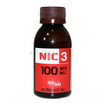 Никотин NIC-3 100 mg-ml
