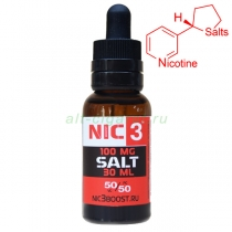 Cолевой никотин NIC-3 SALT (100 mg/ml) 30 мл
