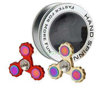 Starss EDC Tri-Bar Hand Spinner Fidget Toy